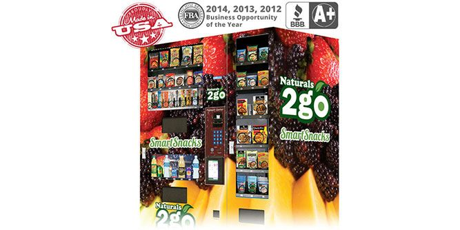 vending machine franchise for sale