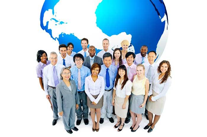 international business people