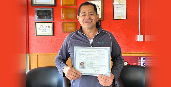 Manny Citizenship