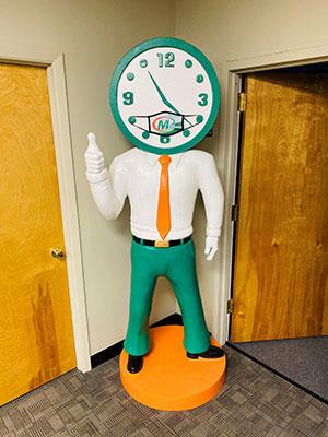 8 foot Minuteman