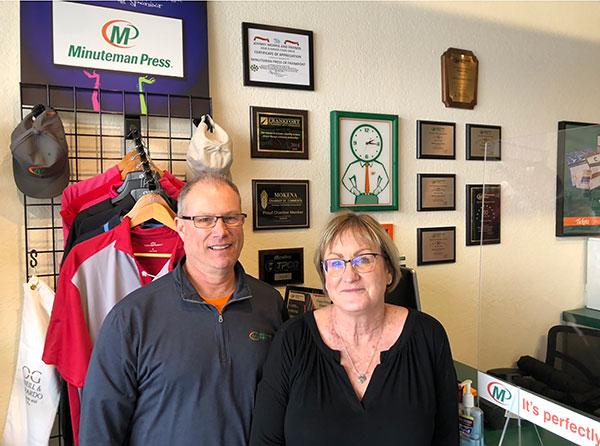 Lynne and John Regas